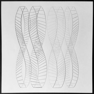 Sérigraphie, composition géométrique, Wybrand Ganzevoort