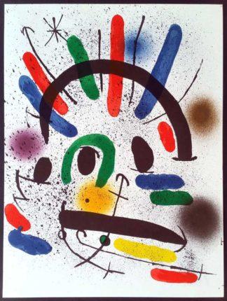 "Lithographie ""Original II"", Joan Miró"