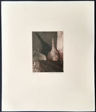 Gravure nature morte (vases), Eberhard Schlotter