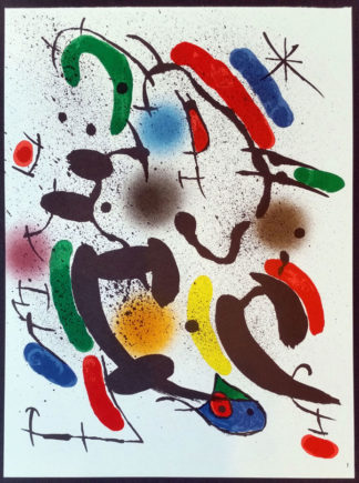 "Lithographie ""Original VI"", Joan Miró"