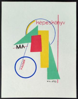 Sérigraphie (LK04), Lajos Kassák