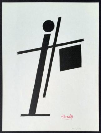 Gravure sur bois (LK05), Lajos Kassák