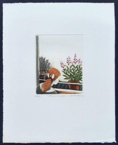 """Gravure, """"Fines herbes"""" d'Annapia Antonini"""