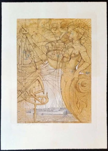 Lithographie (AO01) d'August Ohm