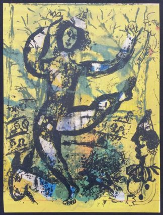 "Lithographie ""Le Cirque"", Marc Chagall"