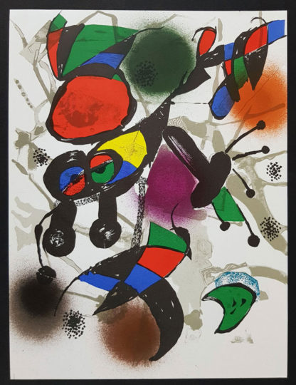 "Lithographie ""Original II"" de Joan Miró"
